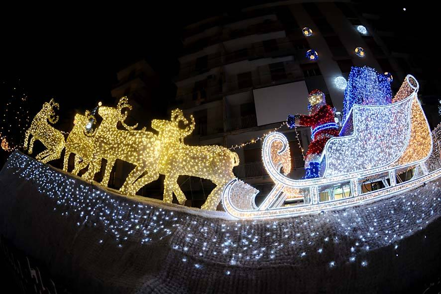 Салерно, Пастена, Дед морозна санях