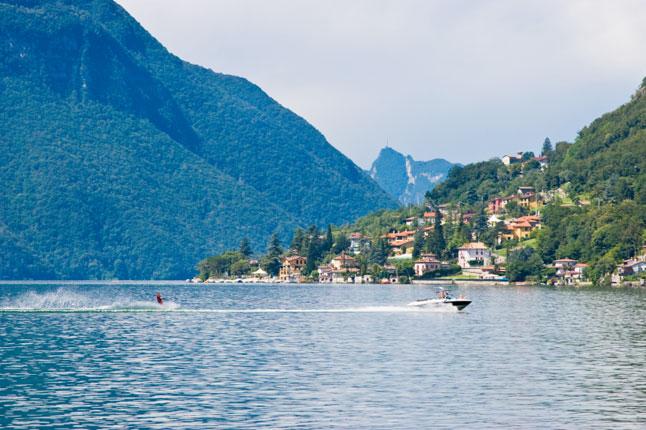 Озеро Лугано ( Lugano )