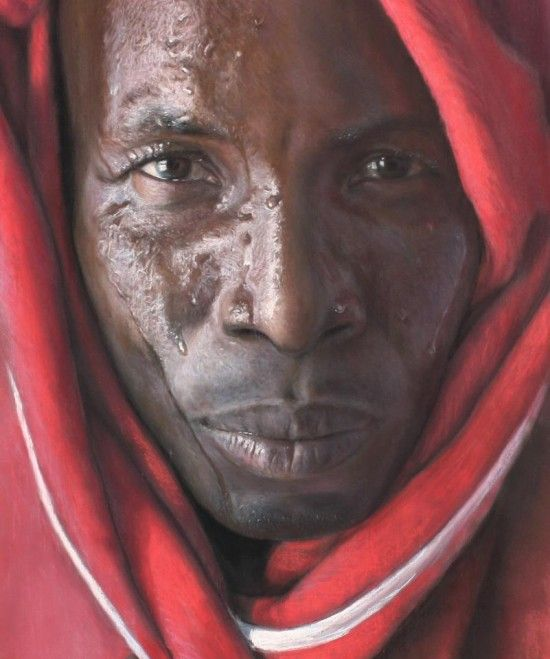 Рубен Беллонсо Адорна и его фотореалистичные портреты