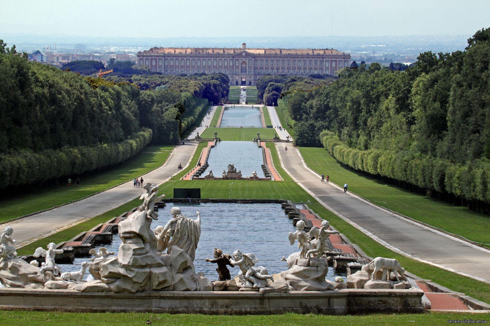 Королевский дворец (Reggia di Caserta, Palazzo Reale di Caserta)