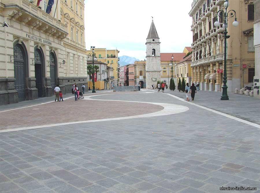 Беневенто (Benevento): город ведьм. Кампания.