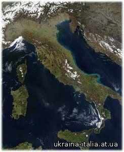 География Италии