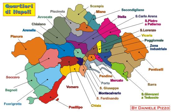 Районы и карта