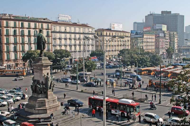 Площадь Джузеппе Гарибальди